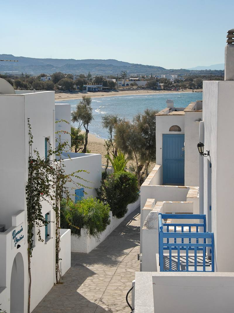 Family rooms in Naxos